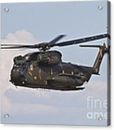 A Ch-53gs Of The German Army Acrylic Print
