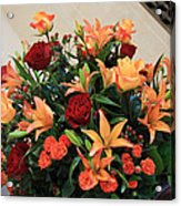 A Gallery's Flowers Acrylic Print