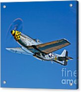 A North American P-51d Mustang Acrylic Print