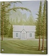 A North Carolina Church Acrylic Print