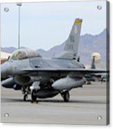 A U.s. Air Force F-16c Fighting Falcon Acrylic Print