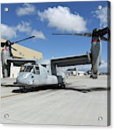 A U.s. Marine Corps Mv-22b Osprey Acrylic Print