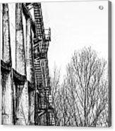 Abandoned Sugarmill Acrylic Print