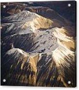 Aerial Mountains Acrylic Print