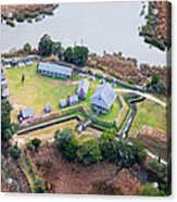 Aerial Near Jekyll Island Acrylic Print