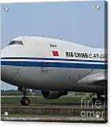 Air China Cargo Boeing 747 Acrylic Print