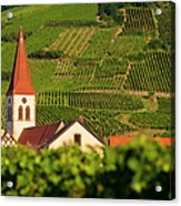 Alsace Church Acrylic Print