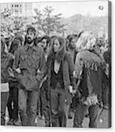 Anti-war Protest, 1971 Acrylic Print