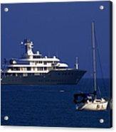 Antibes - Superyachts Of Billionaires Acrylic Print