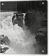 Athabasca Falls Acrylic Print