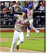 Atlanta Braves V New York Mets 3 Acrylic Print