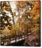 Autumn Awaits Acrylic Print