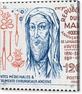 Avicenna (ibn-sina) Acrylic Print