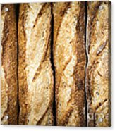 Baguettes Acrylic Print