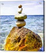 Balanced Acrylic Print