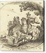 Balthasar Moncornet French Acrylic Print