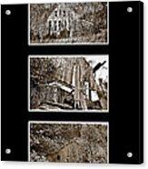 3 Barns Vertical Acrylic Print