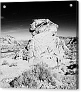 Beehives Sandstone Formations In Valley Of Fire State Park Nevada Usa Acrylic Print
