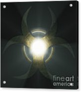 Biohazard Symbol Acrylic Print