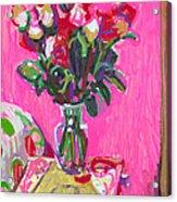 Blakes' Roses Acrylic Print