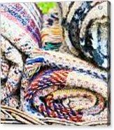 Blankets Acrylic Print