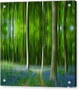 Blue Bell Art Digital Art Acrylic Print