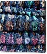 Blue Cloth Acrylic Print