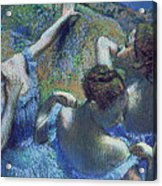 Blue Dancers Acrylic Print