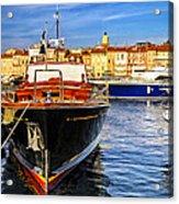 Boats At St.tropez Acrylic Print