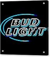 Bud Light Acrylic Print