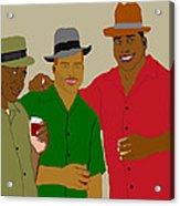 3 Buds Acrylic Print