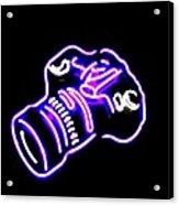 Camera Edited Acrylic Print