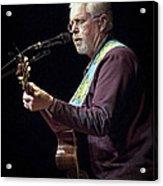 Canadian Folk Rocker Bruce Cockburn Acrylic Print