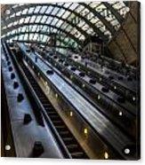 Canary Wharf Station Acrylic Print