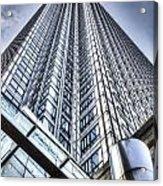 Canary Wharf Tower Acrylic Print