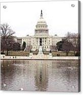Capitol Hill Acrylic Print