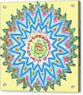 Colorful Signature Art Chakra Round Mandala By Navinjoshi At Fineartamerica.com Rare Fineart Images  Acrylic Print