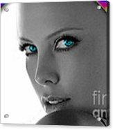 Charlize Theron Acrylic Print