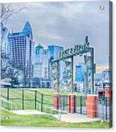 Charlotte Ballpark Acrylic Print