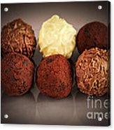 Chocolate Truffles Acrylic Print