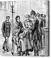 Cholera: Hamburg, 1892 Acrylic Print