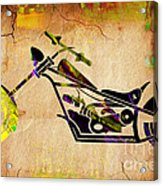Chopper Art Acrylic Print