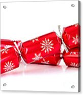 Christmas Crackers Acrylic Print