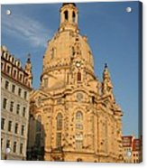 Church Of Our Lady  -  Dresden - Germany Acrylic Print