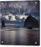 Clearing Storm Acrylic Print by Andrew Soundarajan