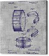 Collapsible Drum Patent 008 Acrylic Print