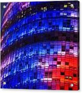 Colorful Elevation Of Modern Building Acrylic Print
