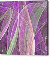 Colorful Figures Acrylic Print