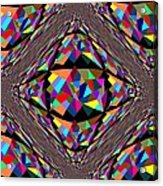 Colors In Chaos Acrylic Print