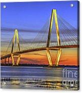 Cooper River Bridge Acrylic Print